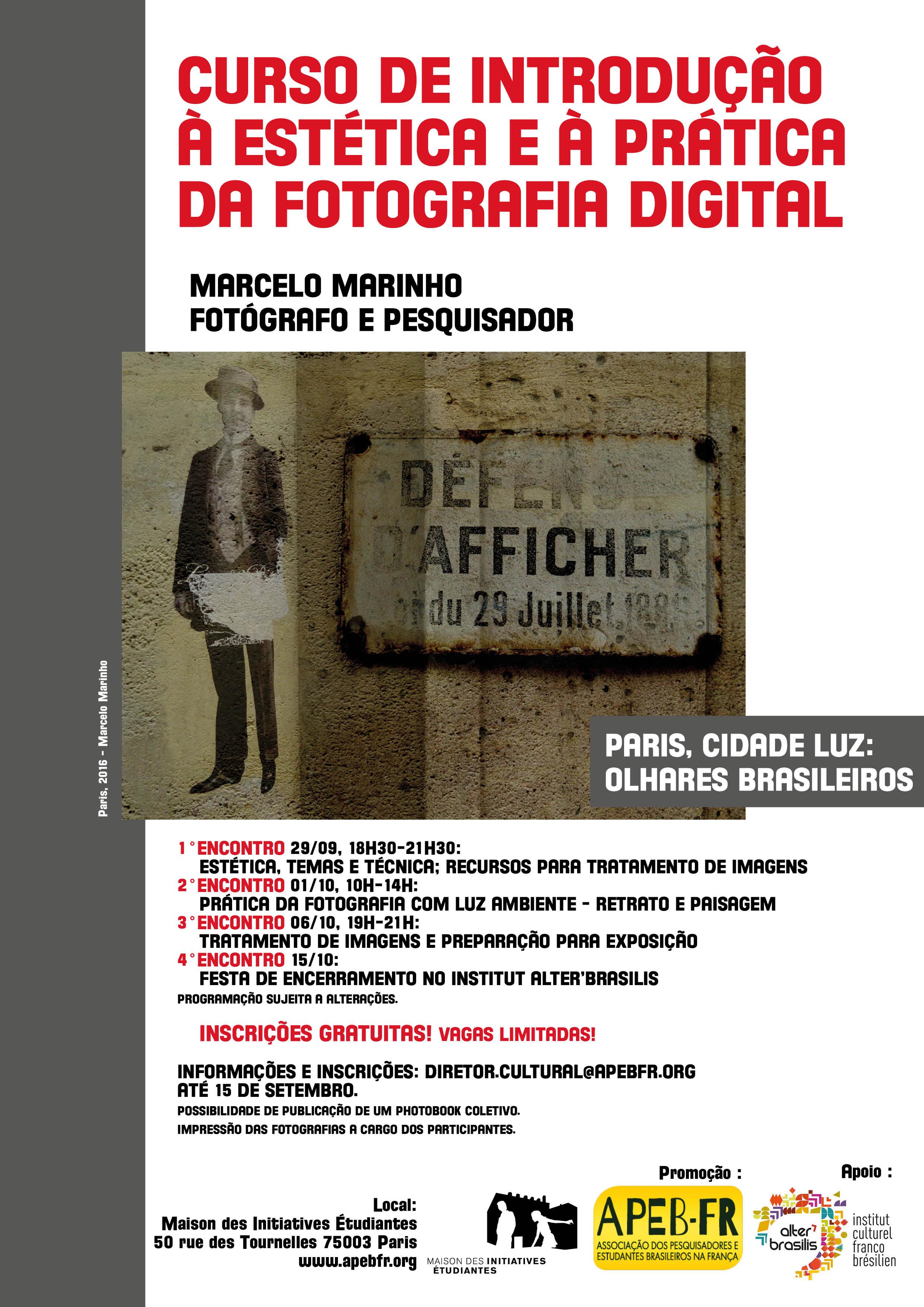 Curso de introdução à estética e à prática da fotografia digital