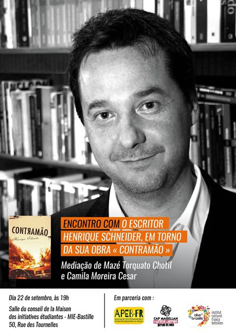 ENCONTRO COM O ESCRITOR Henrique Schneider